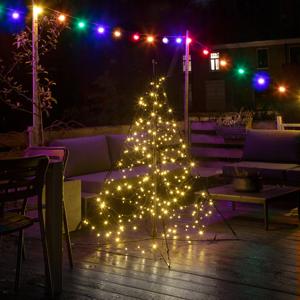 FAIRYBELL Fairybell Vianočný stromček, 240 LED 150 cm