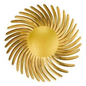 FISCHER & HONSEL Pozlátené lístkovým zlatom nástenné LED Shine LED