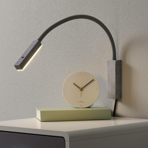 FISCHER & HONSEL Nástenné LED Raik ovládané gestami vzhľad betón