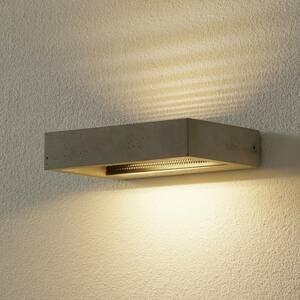 Ideallux Nástenné LED svietidlo Hydro z cementu