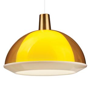 Innolux Innolux Kuplat 400 závesná lampa 40cm žltá