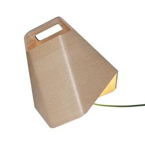 Innolux Innolux Alma stolná LED lampa z dreva