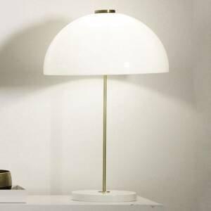 Innolux Innolux Kupoli stolná lampa biely podstavec