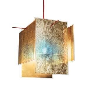 Ingo Maurer Ingo Maurer 24 Karat Blau závesná lampa, 450 cm