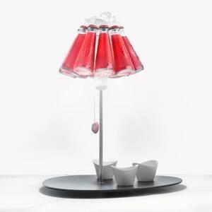 Ingo Maurer Ingo Maurer Campari Bar stolná lampa z fliaš