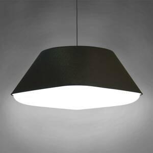 Innermost Innermost RD2SQ 60 – textilná závesná lampa čierna