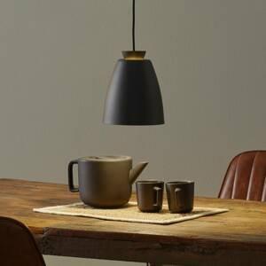 Innermost Innermost Chelsea - závesná lampa Ø 18cm čierna