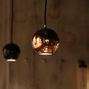 Innermost Innermost Boule závesná lampa, lesklá čierna