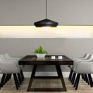Innermost Innermost Hoxton 50 závesná lampa, čierna/zlatá