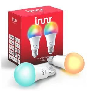 Innr Lighting E27 9,5W LED žiarovka Innr Smart Bulb Colour 2 ks