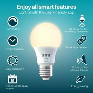Innr Lighting Innr LED žiarovka WiFi E27 9W 806lm 2700K 2 kusy