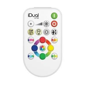 iDual iDual diaľkové ovládanie One Flat RGBW