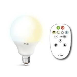 iDual iDual Whites Globe E27 G100 12,5W diaľkové