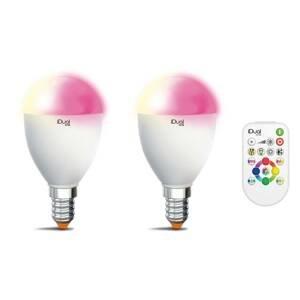 iDual iDual One E14 5,3W RGBW 2 ks diaľkové ovládanie