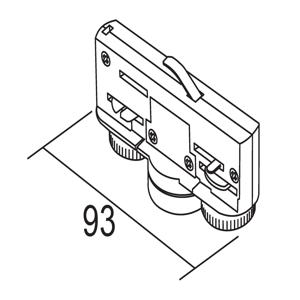 IVELA Ivela adaptér 3-fázový 220-240V 10kg, biely