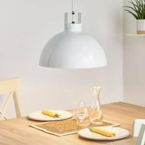JIELDÉ Jieldé Dante D450 závesná lampa, biela, Ø 45cm