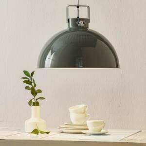 JIELDÉ Jieldé Dante D450 závesná lampa, sivá, Ø 45cm