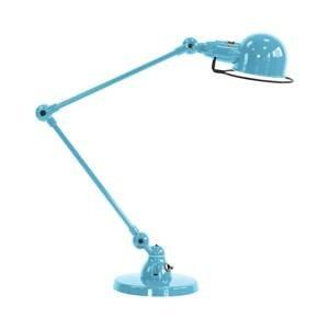 JIELDÉ Jieldé Signal SI333 stolná lampa podstavec modrá