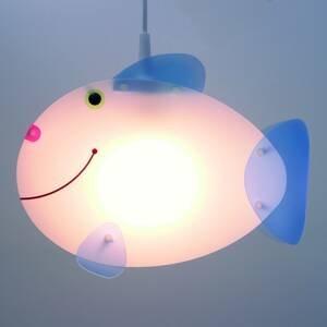 Niermann Standby Závesná lampa do detskej izby Ryba