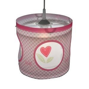 Niermann Standby Otočná závesná lampa Lief for Girls in Rosa
