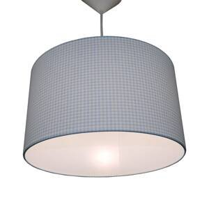 Niermann Standby Závesná lampa Vichykaro, svetlomodrá
