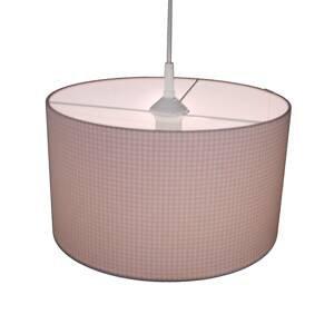 Niermann Standby Závesná lampa Vichykaro, ružová
