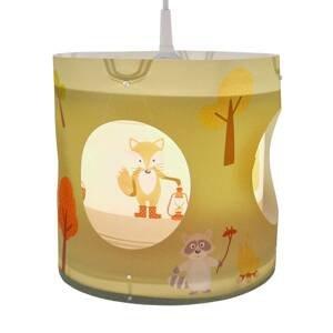 Niermann Standby Otočná závesná lampa Lesné zvieratká