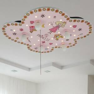 Niermann Standby Stropné svietidlo Princezná, tvar oblaku
