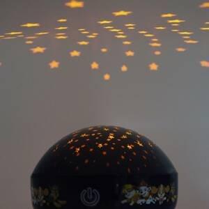 Niermann Standby Projekčné nočné LED svetlo Paw Patrol, modré