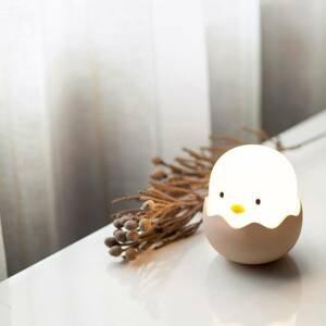 Niermann Standby Nočné LED svetlo Eggy Egg s batériou