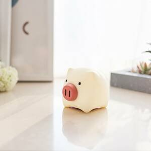 Niermann Standby Nočné LED svetlo Piggy Pig s batériou