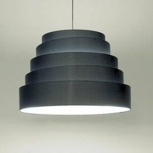Karboxx Závesná lampa Babel s čiernym tienidlom na lampu