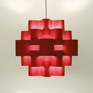 Karboxx Závesná lampa Red Sun v červenej