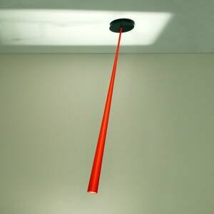Karboxx Závesná lampa Drink Color oranžová 127cm