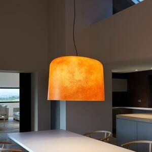 Karboxx Sklolaminátová závesná lampa Ola oranžová
