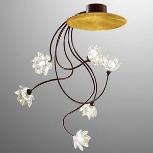 Kögl Stropné svietidlo Fiorella 6-plameňové číre