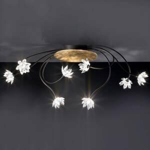 Kögl Stropné svietidlo Fiorella 8-plameňové číre