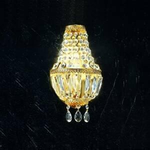 Kögl Nástenné svietidlo Cupola, 24-karátové pozlátené