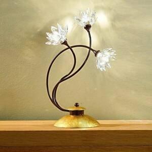 Kögl Stolná lampa Fiorella číra