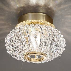 KOLARZ KOLARZ Carla krištáľové stropné svietidlo s zlatom