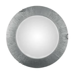 KOLARZ Stropné svietidlo Moon Sun, striebro, Ø 40cm