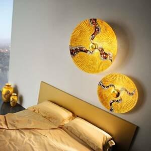 KOLARZ KOLARZ Luna Kiss Gold nástenné svetlo 24kt Ø54cm