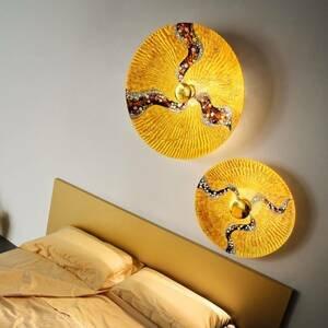 KOLARZ KOLARZ Luna Kiss Gold nástenné svetlo 24kt Ø62cm
