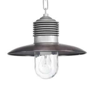 K. S. Verlichting Vonkajšia závesná lampa Klaus hliník/meď