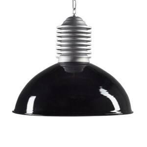 K. S. Verlichting Vonkajšia závesná lampa Carla hliník/čierna