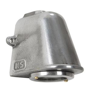 K. S. Verlichting Hliníkové vonkajšie nástenné svietidlo Offshore