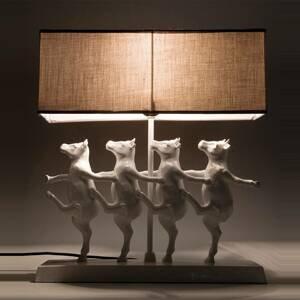 KARE KARE Dancing Cows – vtipná stolná lampa