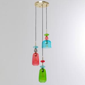 KARE KARE Goblet Colore Spiral závesná lampa 3-pl