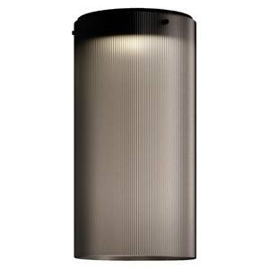 Kundalini Kundalini Giass stropné LED svietidlo Ø 25cm sivé