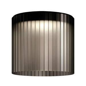 Kundalini Kundalini Giass stropné LED svietidlo Ø 40 cm sivé